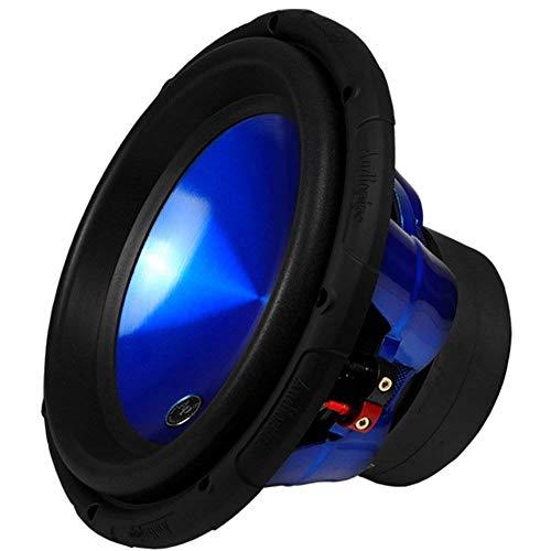 Audiopipe TXX-APC-12BL 12' 1600W Car Audio Dual 4 Ohm High Power Subwoofer, Blue