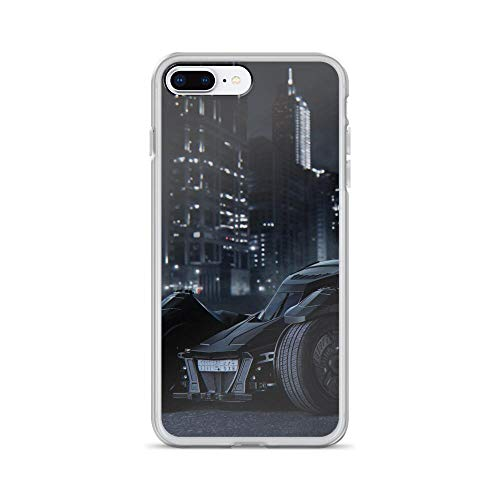 Shockproof Case Compatible for iPhone 7 Plus/8 Plus Batmobile Bat-Man Superhero Comic Ride