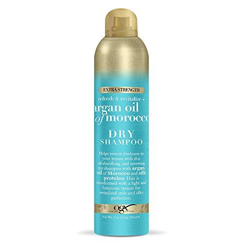 OGX Refresh Revitalize Extra Strength Dry Shampoo, Argan Oil of Morocco 5 Ounce