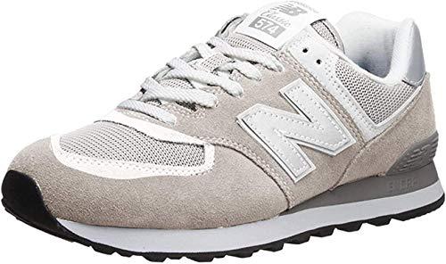 New Balance Men's 574 V2 Evergreen Sneaker, Nimbus Cloud/Nimbus Cloud, 17 M US