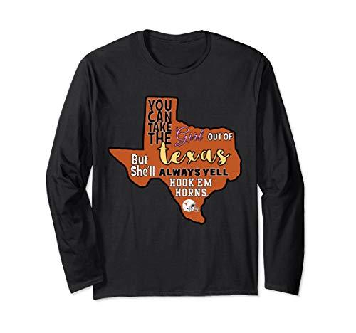 Texas Longhorns Hook'em Horns! - Apparel Long Sleeve T-Shirt