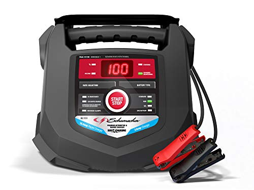 Schumacher Fully Automatic Battery Charger and Maintainer 15 Amp/3 Amp, 6V/12V - for Marine and Automotive Batteries