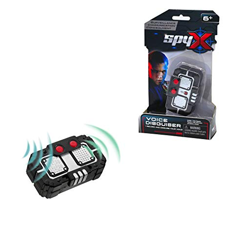 SpyX / Micro Voice Disguise - Voice Recording Spy Toy - Record Your Voice and Play it Back 'Twisted'. Perfect addition for your spy gear collection!