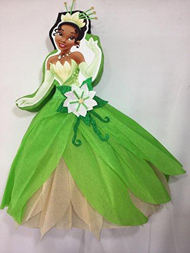 the princess and the frog pinata, Princess Tiana pinata, princess party