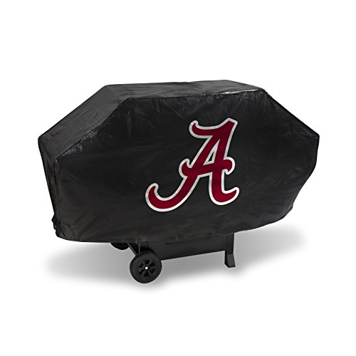 NCAA Rico Industries Vinyl Padded Deluxe Grill Cover, Alabama Crimson Tide, 68 x 21 x 35-inches