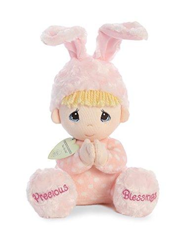 Aurora World Precious Moments Soft Toy Doll, Pink