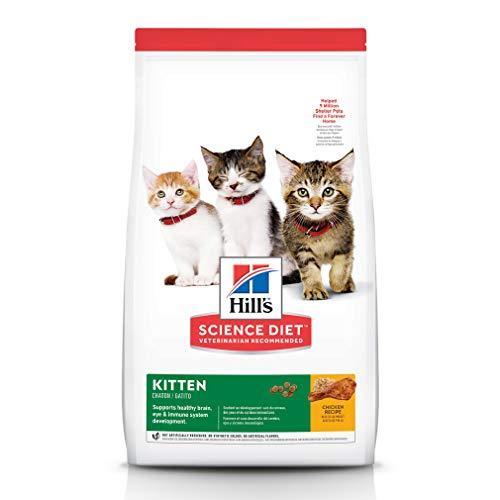 Hill's Science Diet Dry Cat Food, Kitten, Chicken Recipe, 3.5 lb Bag