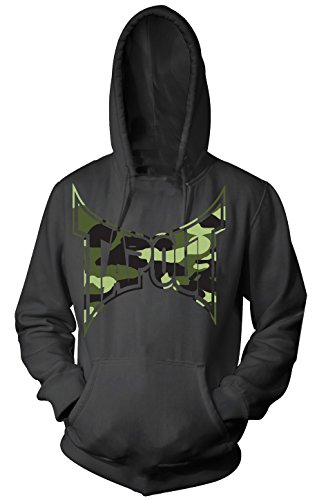 TapouT Sniper Pull Over Adult Hoodie (Medium, Black)