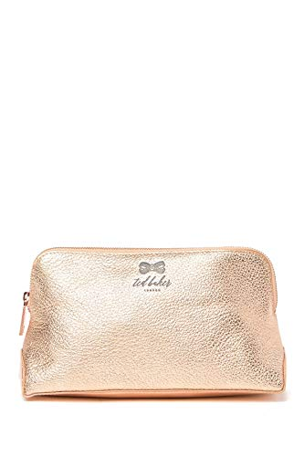 Ted Baker London Pescara Makeup Bag, Size One Size - Rose Gold