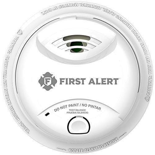 First Alert 10-Year Ionization sensor Smoke Alarm, 0827B, White