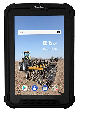 Ultra Rugged Android Tablet Barcode Scanner, 8-inch / IP67 Waterproof/with Zebra 1D Laser Scan Engine/GPS, for Warehouse Management