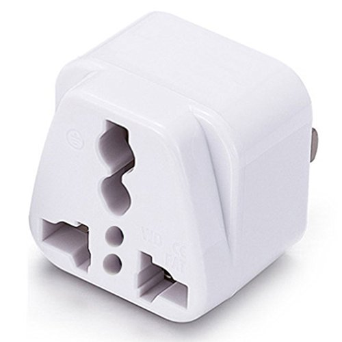 ICEVEIN Universal Power Travel Plug Adapter Converting from EU/UK/CN/AU/JP to USA