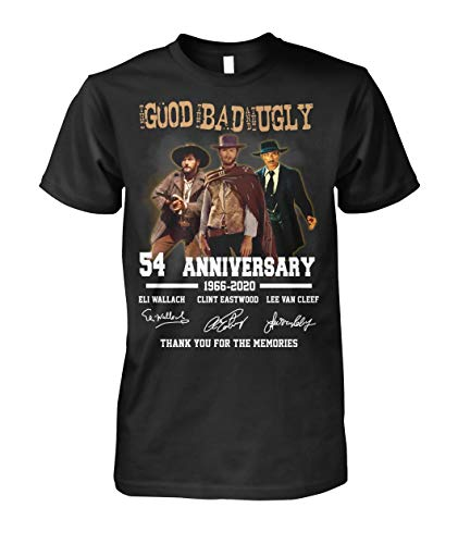 Design for The Good The Bad The Ugly Fans 54 Years Anniversary Shirt, Unisex Hoodie, Sweatshirt for Mens Womens Ladies Kids