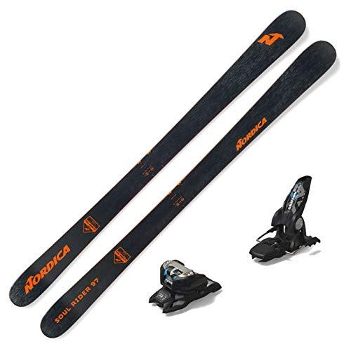Nordica 2021 Soul Rider 97 Skis w/Marker Griffon 13 ID Bindings (185)