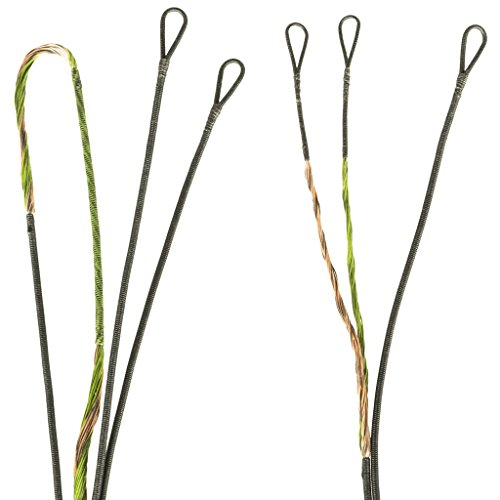 FIRST STRING PSE 2012-2013 Bow Madness 3G Premium String Kit, Green