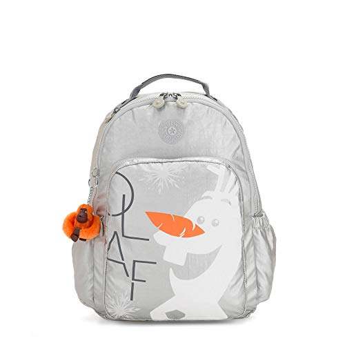 Kipling Disney's Frozen II Seoul Go Large 15' Laptop Backpack Frosted Olaf S