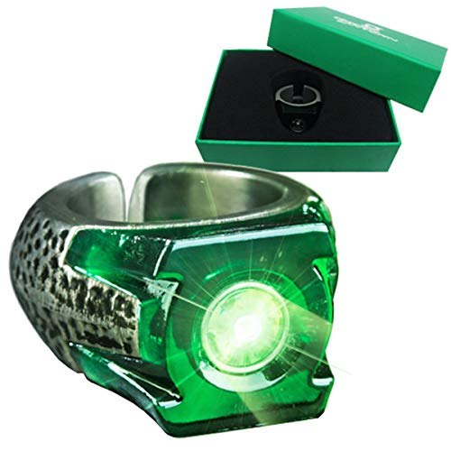 Animewild Green Lantern Light-Up Ring