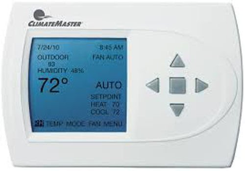 CLIMATEMASTER ATP32U03/4255550 24 VOLT DIGITAL PROGRAMMABLE 3-HEAT/2-COOL THERMOSTAT FOR WATER-SOURCE HEAT PUMP