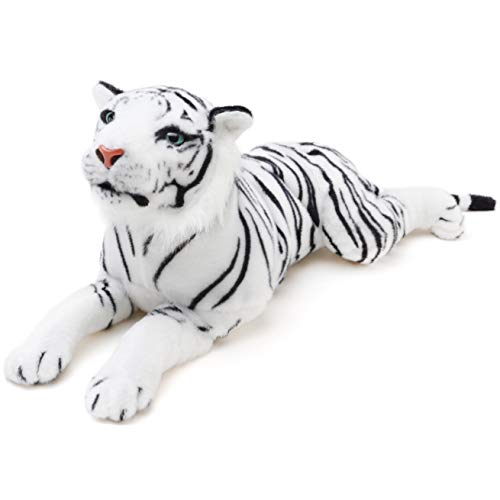 VIAHART Sada The White Tiger | 23 Inch (Tail Measurement Not Included!) Stuffed Animal Plush | by Tiger Tale Toys