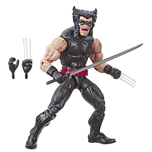 Marvel Retro 6'-Scale Fan Figure Collection Wolverine (X-Men) Action Figure Toy – Super Hero Collectible Series