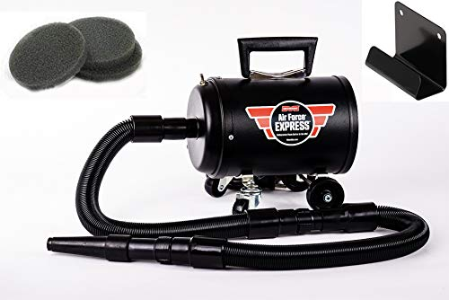 New Metro Vac Air Force Express Detailing Dryer | Includes 3 Bonus Filters | A Super-Fast Way to Dry Your Car, Truck, SUV, Or Motorcycle | Comes with Wall Mount Bracket | Made in The USA