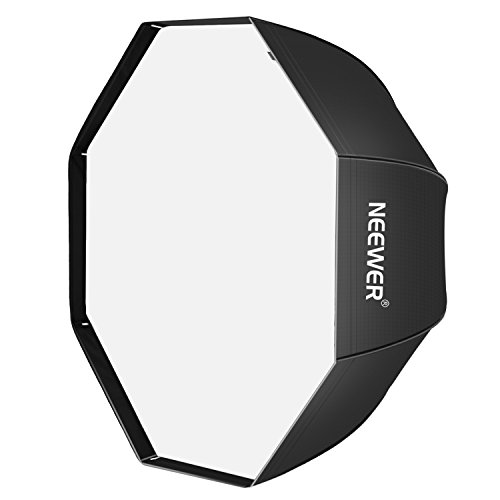 Neewer 47'/120cm Octagonal Speedlite, Studio Flash, Speedlight Umbrella Softbox with Carrying Bag for Portrait or Product Photography