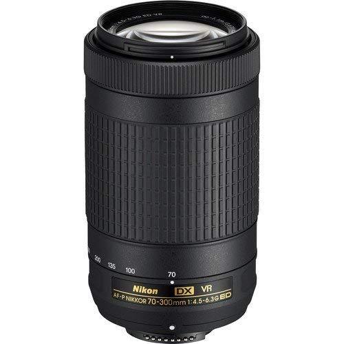 Nikon AF-P DX NIKKOR 70-300mm f/4.5-6.3G ED VR Lens for Nikon DSLR Cameras (Renewed)