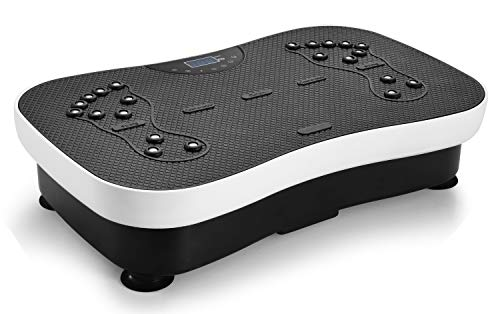 TODO Vibration Platform Whole Body Vibrating Board, Remote Control/Bluetooth Music/USB Connection/Resistance Bands