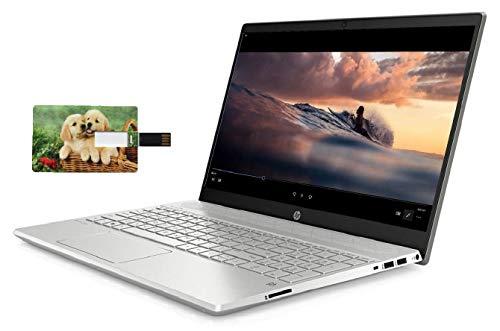 HP Pavilion 15 Business Laptop Computer, 10th Gen Intel Quad Core i5-1035G1, 15.6' HD IPS Touchscreen, 16GB RAM, 512GB NVMe M.2 SSD, Win 10 Pro, Wi-Fi 5, Bluetooth 5, Webcam, B&O Audio, USB-C, HDMI