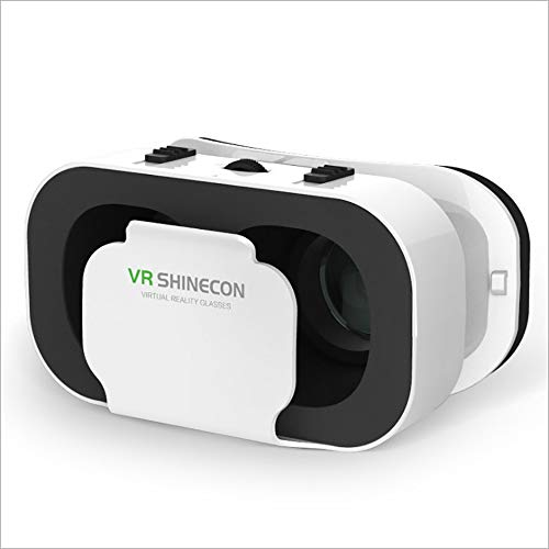 VR Headset Compatible with iPhone & Android Phone-Virtual Reality Headsets Google Cardboard -Mini Exquisite Light Weight- Comfortable New 3D VR Glasses (VR4.0 Box, 2 Pack)