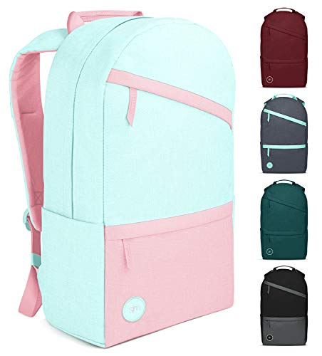 Simple Modern Legacy Backpack with Laptop Compartment Sleeve - 25L Travel Bag for Men & Women College Work School - Sweet Taffy (Color Blocked)