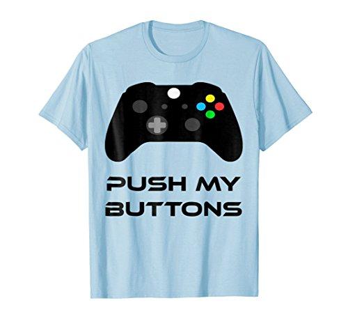 Push My Buttons Gaming T-shirt Controller Shirt