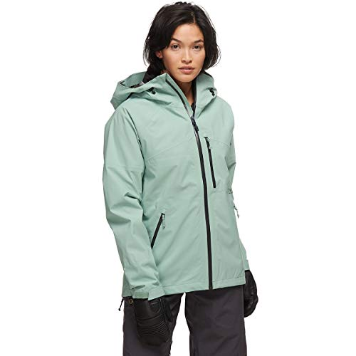 Flylow Women's Vixen 2.1 Jacket - 3 Layer Waterproof Skiing and Snowboarding Shell (Willow, L)