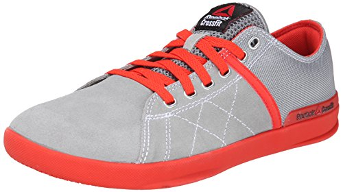 Reebok Men's crosssfit lite lo tr-m, Flat Grey/China Red/White, 7.5 M US