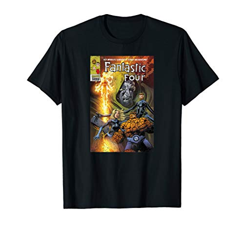Marvel Fantastic Four Comic Cover Midtown Variant T-Shirt