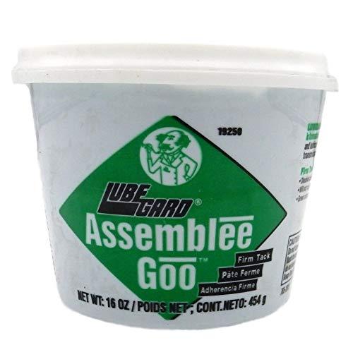 Lubegard 19250 Dr. Tranny Assemblee Goo, Green, Firm Tack Lubricant, 16 oz.