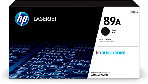 HP 89A | CF289A | Toner Cartridge | Black