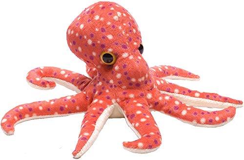 Wild Republic Octopus Plush, Stuffed Animal, Plush Toy, Gifts for Kids, Hug'ems 10 inch