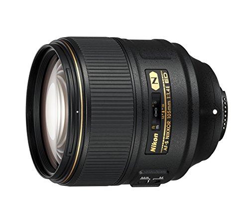 Nikon AF-S FX NIKKOR 105mm f/1.4E ED Lens with Auto Focus for Nikon DSLR Cameras