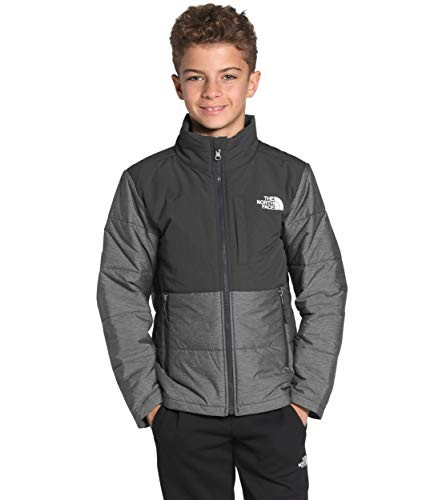 The North Face Youth Balanced Rock Insulated Jacket, TNF Medium Grey Heather, L