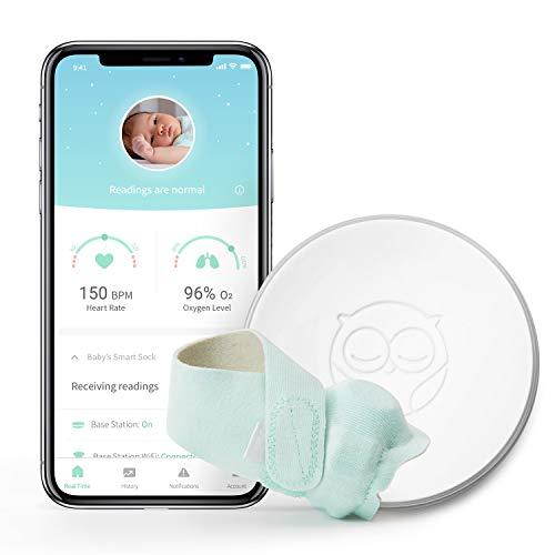 Owlet Smart Sock 2 Baby Monitor, White