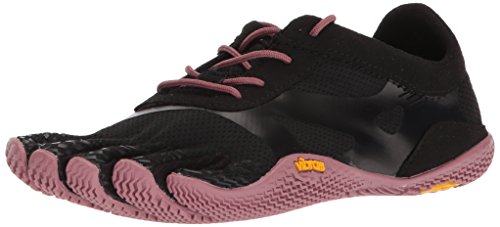 Vibram Women's KSO EVO Black/Rose Cross Trainer, 9-9.5 M B EU (42 EU/9-9.5 US US)