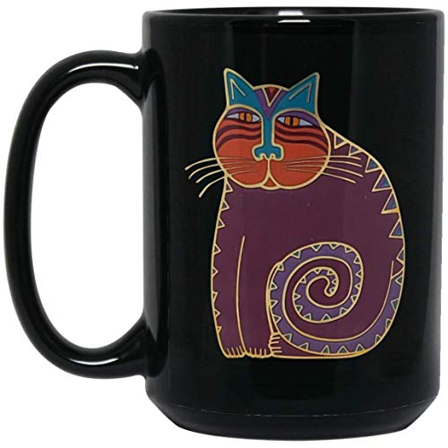 Laurel Burch Cat Family Coffee Mug