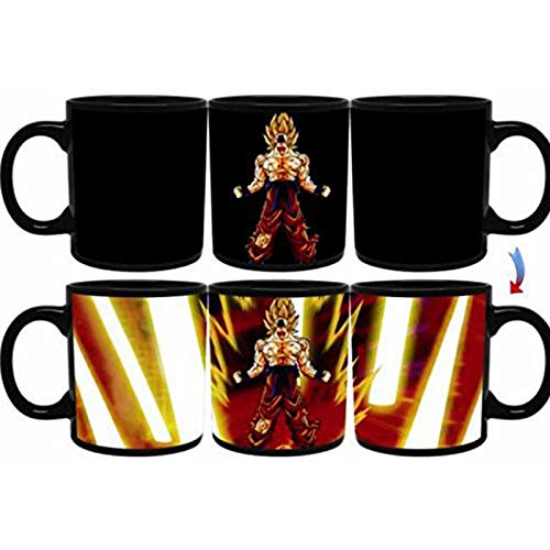 DBZ Goku Heat Reactive Super Saiyan SSJ Limit Breaker Legendary Edition Mug For A Limited Time Only