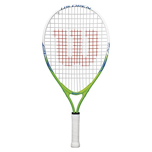 Wilson Youth US Open Recreational Tennis Racket - Green/Yellow, 21'