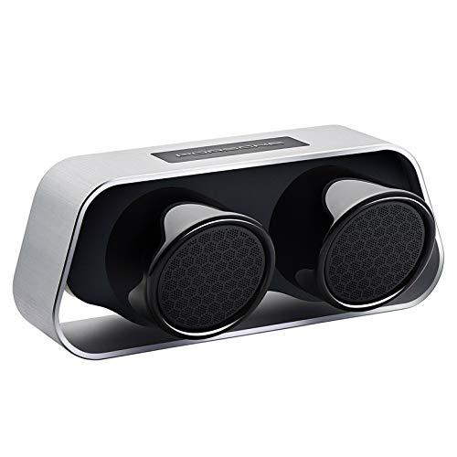 Porsche Design 911 Speaker - High-end Bluetooth Speaker (Silver) - International Version