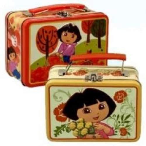 Dora the Explorer Tin Lunch Box Bag (Desings May Vary)
