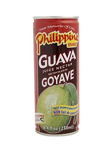 Philippine Guava Juice Nectar 8.4-Ounce (Pack of 24)