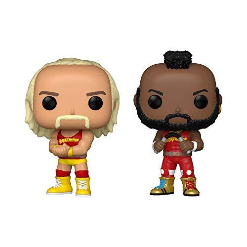Funko Pop! WWE - Hulk Hogan & Mr. T, Hulkamania 2 Pack, Amazon Exclusive
