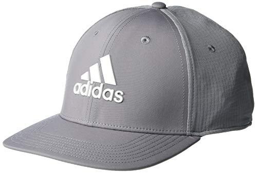 adidas Golf Golf Men's Tour Hat, Grey/White, Large/Extra Large